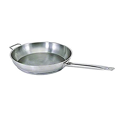 Pinch (FRYN-15H) 15  Stainless Steel Fry Pan w/ Handle