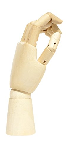 Jack Richeson 710222 12'' Right Hand Male Manikin by Jack Richeson