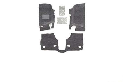 BedRug Jeep Kit - BedRug BRJK07F2 fits 07-10 JK 2DR FRONT 3PC FLOOR KIT (INCLUDES HEAT SHIELDS)