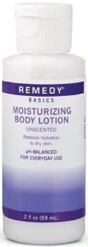Medline MSC092MBL02H Remedy Basics Moisturizing Body Lotion, White