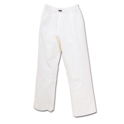 Macho 7oz Student Karate Gi Pants - White / Size 1