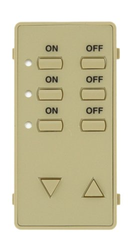Leviton DCK3D-I Color Change Kit for 3 Address Decora Home Controls (DHC) Controller, - Home Controls Decora Dhc Controller