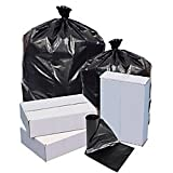 Highmark(TM) Repro 70% Recycled Can Liners, 1.25 mil, 56 Gallons, 43in. x 47in., Black, Box Of 100