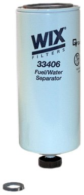 WIX Filters - 33406 Heavy Duty Spin On Fuel Water Separator, Pack of 1
