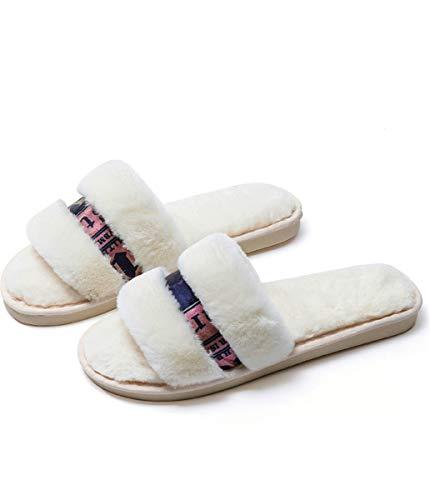 Zapatillas oto o de Felpa Shenhai Zapatillas de de algod PwdUqT