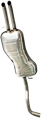 Stainless Steel Rear Exhaust Muffler Fits 1999-2004 VW Jetta 1.8L 1.9L 2.8L
