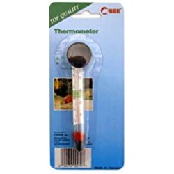 Taam Floating Glass Thermometer With Suction Cup Reads Between 35-110 Degrees F