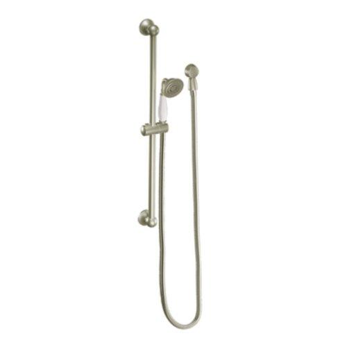 Moen S12107Epbn Showering Accessories-Premium Eco-Performance Handheld Shower, Brushed Nickel