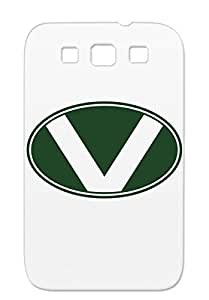 Miscellaneous V Logo Football Uniform Team Letter Circle Jersey Sports Black TPU Case For Sumsang Galaxy S3
