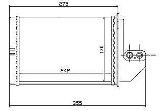 Heater GRP50 RAD 040350: