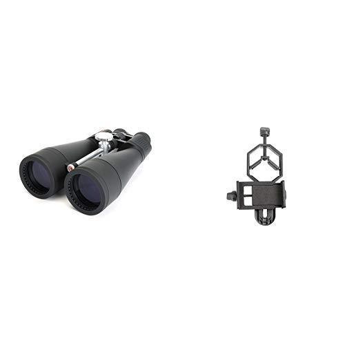 "Celestron SkyMaster 20x80 Binoculars with Basic Smartphone Adapter 1.25"""