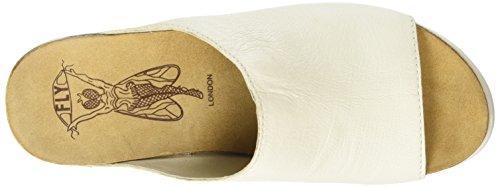 Wedge Sandal Fly Wigg672fly London Women's White qwxAZSt