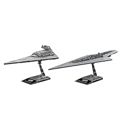 Star Wars Super Star Destroyer 1/100000 & 1/14500 Star Destroyer,Bandai Star Wars Plastic Model