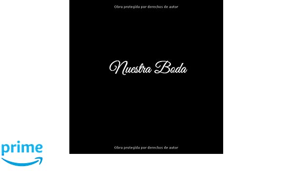 Nuestra Boda: Libro De Visitas Nuestra Boda - accesorios ...