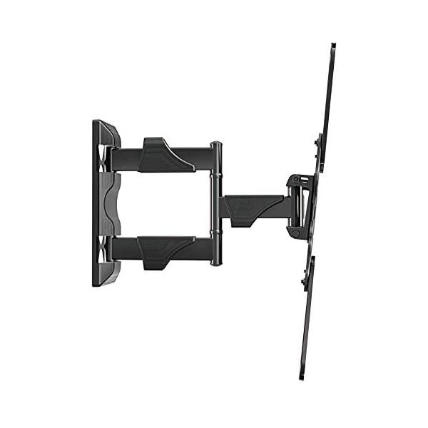 Support Mural TV Orientable et Inclinable pour Télévision de 32-55 Pouces Convient pour Écran 4K UHD LED LCD VESA Max…