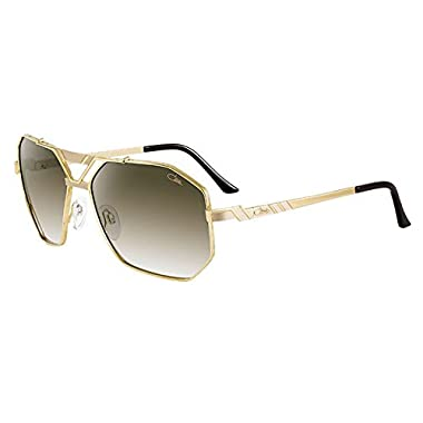 bc04ea8d7ff Cazal 9058 002 Matte Gold Brown Gradient Sunglasses 63MM