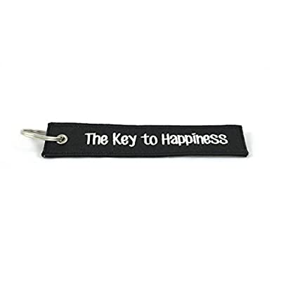 CG Keytags – Unique Key Chains for Motorcycles, Scooters, Cars, Gifts, and More (The Key to Happiness): Home Improvement