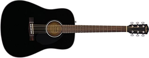 Fender CD -60S Dreadnought Acoustic Guitar - Black Finish