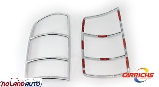 Carrichs Chrome Taillight Covers 2002-2008 Dodge Ram 1500 (TLDO130)