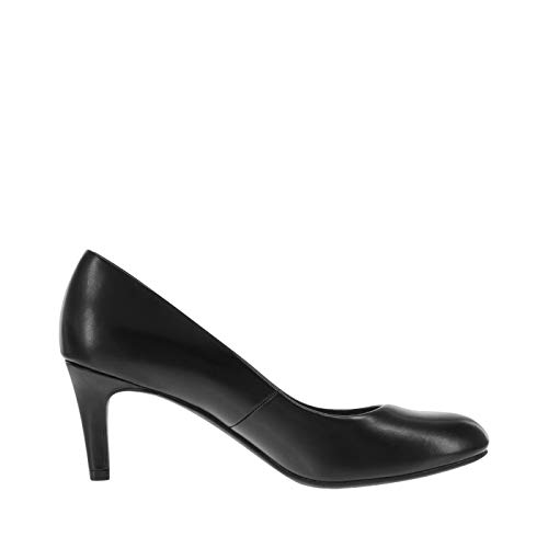Image of dexflex Comfort Women's Smooth Black Women's Karma Round-Toe Pump 9 Regular