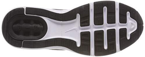 NIKE white Silver Metallic Black Sport 749865 600 002 Femme Chaussures de Noir rwrvHqAz