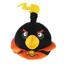 Angry Birds Space 5-Inch Black Bird with Sound (Angry Birds Space For)