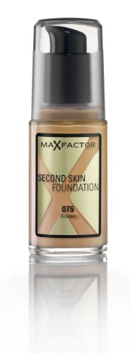 Max Factor Second Skin Foundation Foundation, No.075 Golden,