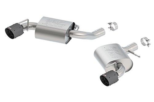 Borla 11923CFBA ATAK Axle-Back Exhaust System