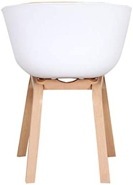 1234 Lot de 2 Fauteuils avec Coussin en Tissu Doux et Construction Métallique Stable Chaises d'accoudoirs de Conception Moderne pour Salle à Manger Salon Chambre à Coucher (Jaune)