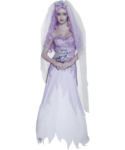 Gothic Manor Ghost Bride Costume (Smiffys Women's Gothic Manor Ghost Bride Costume)