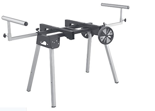 909 PM3000W Folding Miter Saw Stand with Wheels and Dual Work Support