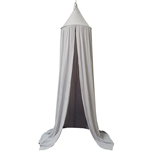 Cheapest Price! Dome Princess Bed Canopy for Baby Kids Reading Play Tents Cotton Canvas Height 7.2' ...