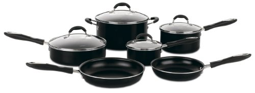 Cuisinart 10-Piece Nonstick Cookware Set