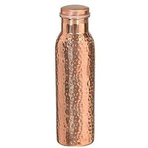 ANARO Copper Water Bottle, 1L, Set of 1