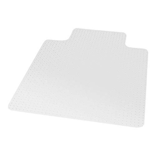 Staples 567298 45-Inch X 53-Inch Low Pile Carpet Chair Mat Lip ()