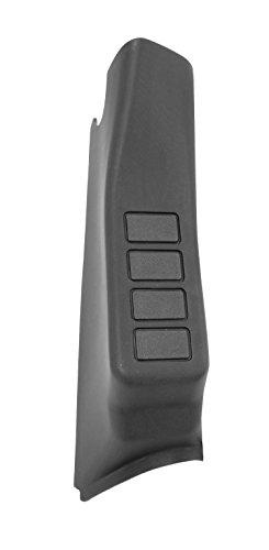Rugged Ridge 17235.59 Black Right Side A-Pillar 4-Switch (Right Center Pillar)