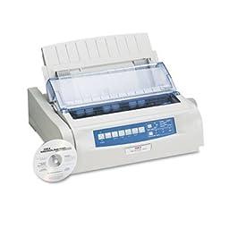 OKIDATA * Microline 490 24-Pin Dot Matrix Printer, Sold as 1 Each