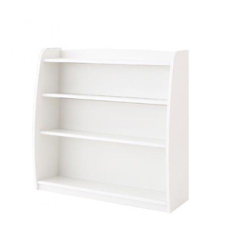 CREA クレアシリーズ 本棚 幅93cm ホワイト B00AAL8E3E Parent ホワイト