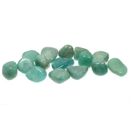pietre di amazzonite lavorate CrystalAge 15-20 mm