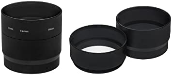 58mm Two Piece Lens Adapter for Canon Powershot G10 an alternative to the LA-DC58K G11