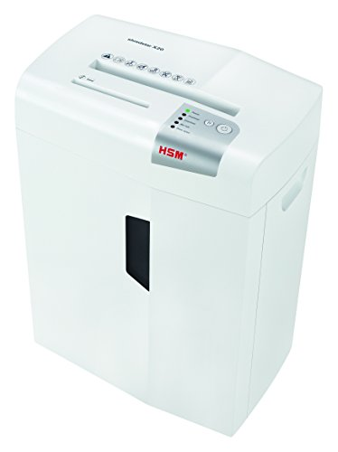 HSM shredstar X20 Cross-Cut Shredder; Shreds Up to 20 Sheets; 6.9-Gallon Capacity Shredder