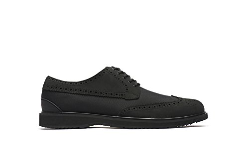 SWIMS Barry Brogue Low Loafer in Black, Size 9 by SWIMS