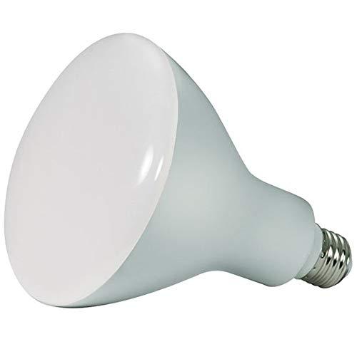 6 Pack - Satco 11.5 watt; LED BR40; 4000K; 103' Beam Spread; Medium Base; 120 Volts; dimmable - S9636