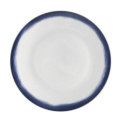 Wedgwood Vera Simplicity Indigo Ombre Salad Plate, 9-Inch, White