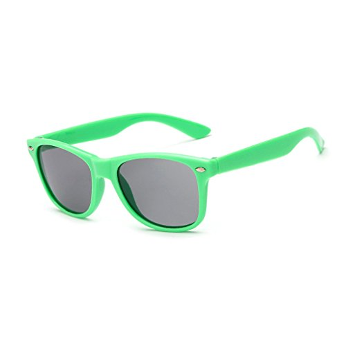 Childrens Kids Wayfarer Style Sunglasses UV400 Flexible Frame Classic Retro Shades For Boys And Girls, - Good Sunglasses For Cheap