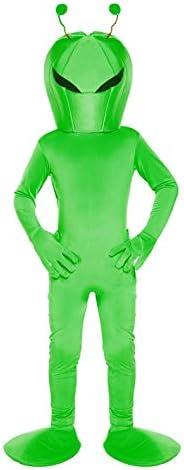 Disfraz infantil Alien Grande 10-12 AÑOS: Amazon.es: Juguetes y juegos