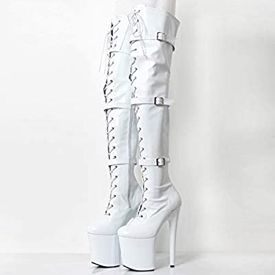 Womens Over The Knee Thigh High Heel
