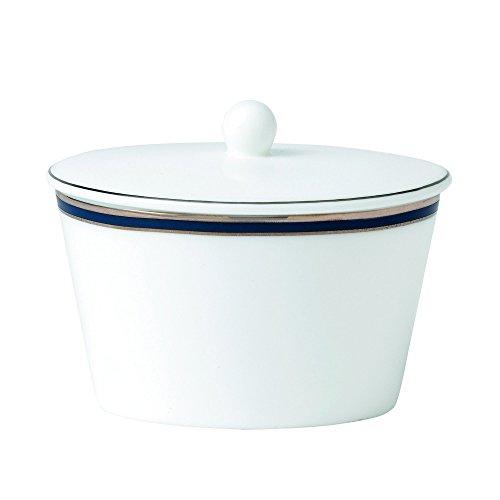 (Royal Doulton Signature Blue Covered Sugar Bowl, 3.5