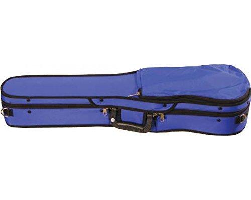 Bobelock Half Moon Puffy 1047P 4/4 Violin Case with Purple Exterior and Grey Interior