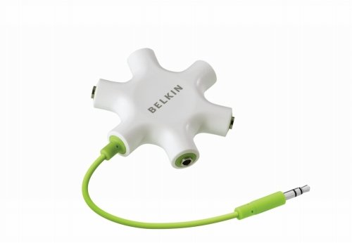 Belkin RockStar 3 5 mm Headphone Splitter